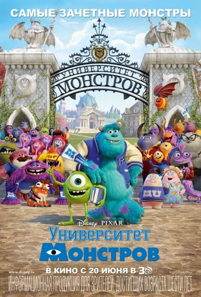Университет монстров / Monsters University - 2013